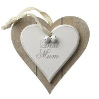 Heaven Sends - Best Mum - Hanging Heart
